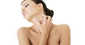 Symptome der Histaminintoleranz: Hautausschlag und Rötung
