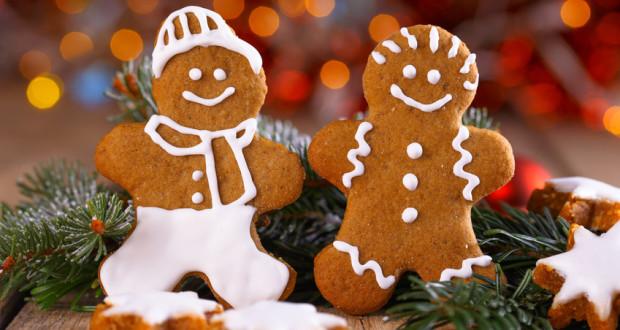 Lebkuchen zu Weihnachten