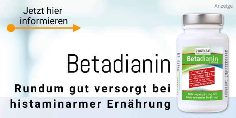 Betadianin bei Histaminintoleranz