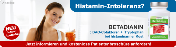 Betacur - bei Histaminintoleranz
